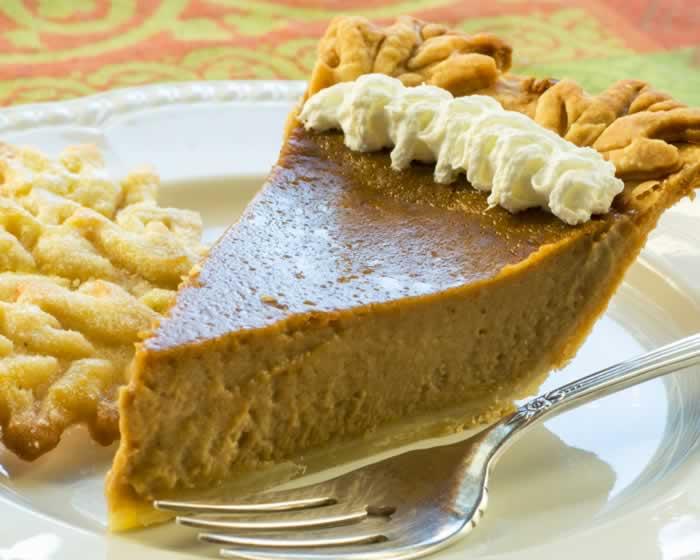 Perfect Sweet Potato Pie Slice