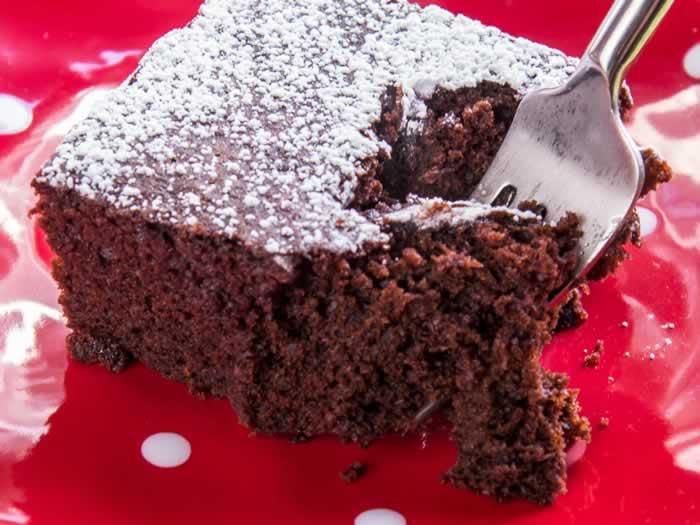 Chocolate Snacky Wacky Cake