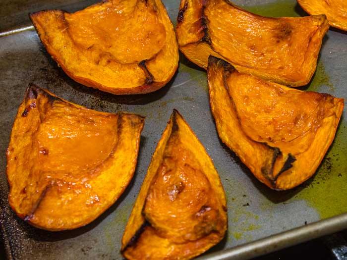 Pumpkin Carbonara with Caramelized Pumpkin & Frizzled Sage