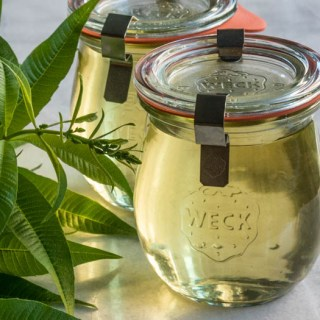 Sprightly Lemon Verbena Syrup & Limeade