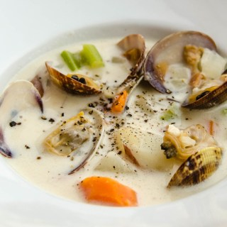 Northwest Creamy Manila Clam Chowder