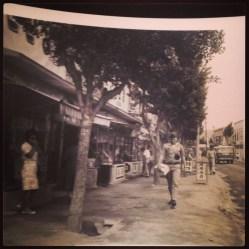 A street in Korea, circa 1965