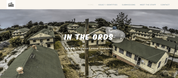 A screenshot of In the Ords' homepage.