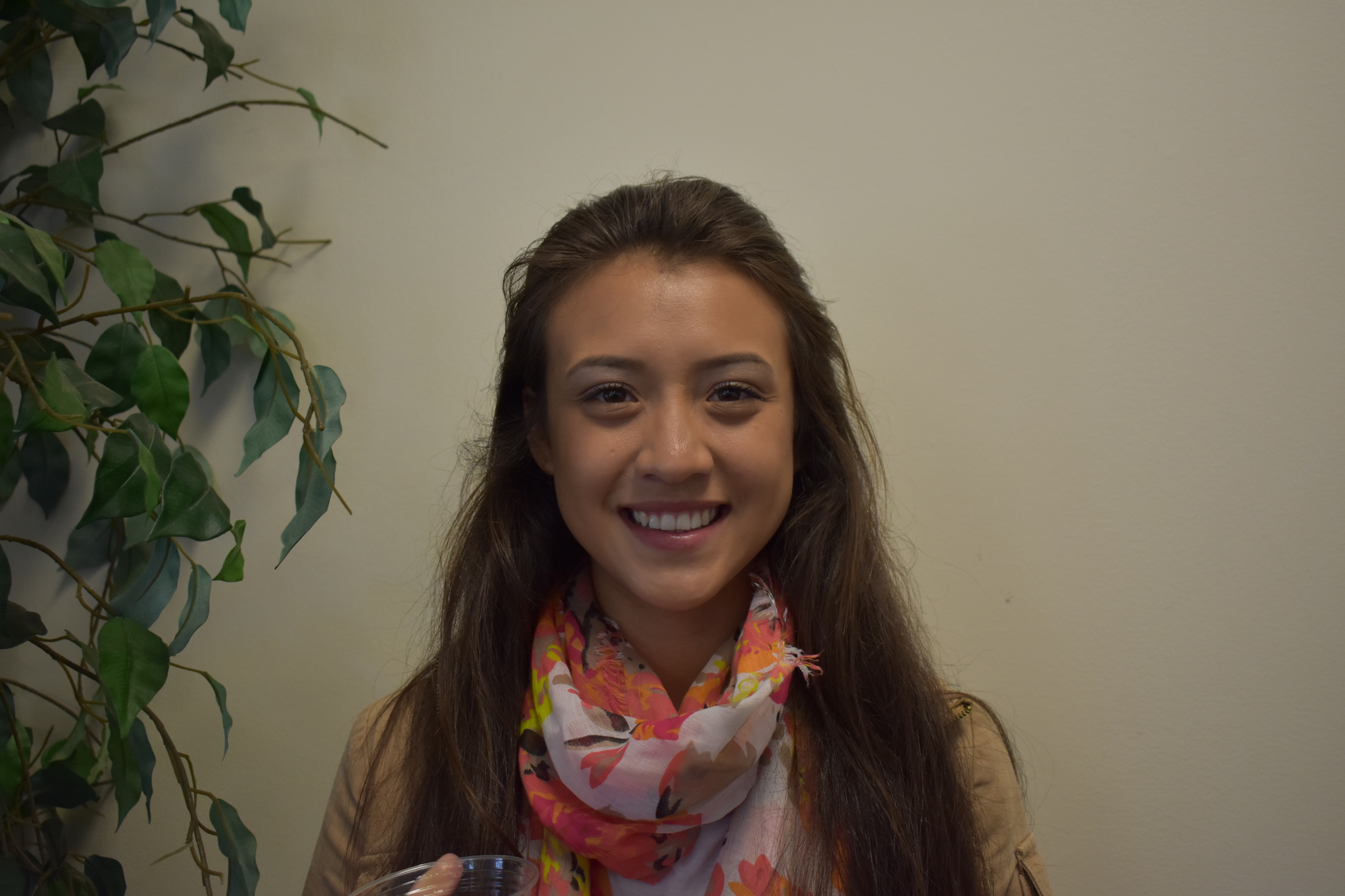 """Arianna Lara, Environmental Studies. """"I want to because I need a degree to succeed in life"""""""