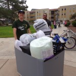 Move in day at CSUMB