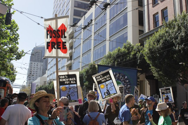 San Francisco Global Climate March