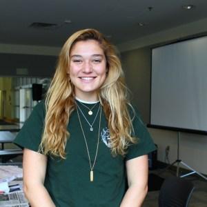 Laurel Doyle, Third Year VPA major.