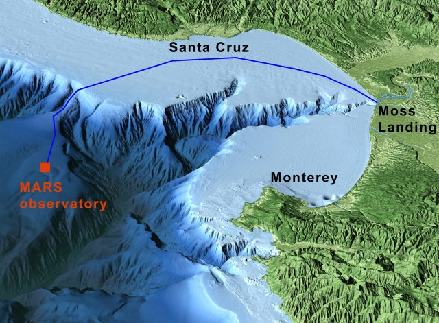 Offshore deep sea  canyon fascinates Monterey Peninsula