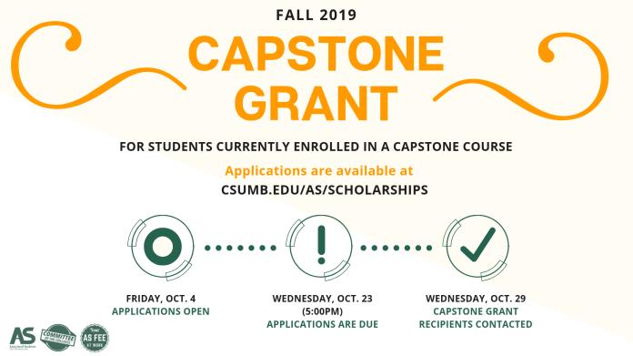 Oct24_Associated Students_Capstone Grant Scholarship