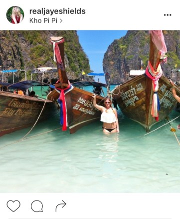 The Luv Aviatrix in Ko Phi Ph, Thailandi