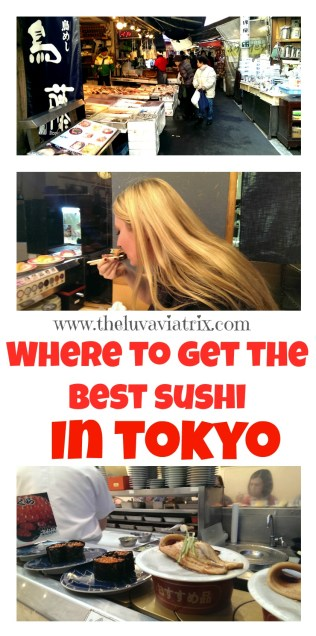 A Flight Attendant's Guide to the best Sushi in Japan. The Tsukiji Fish Market, Tokyo
