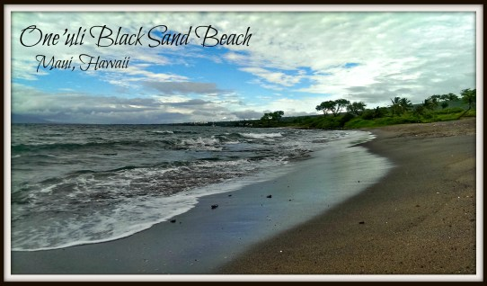 A Flight Attendant's Guide to Maui, Black Sand Beach