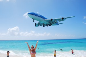 The Luv Aviatrix, a Flight Attendant's Travel Guide to Maho Beach