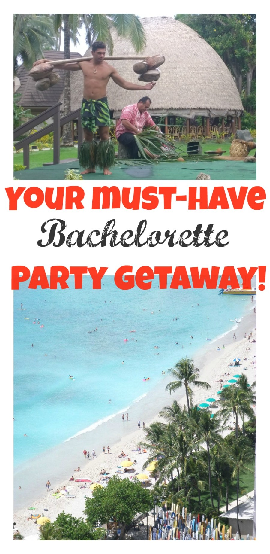 Hawaii Bachelorette Party Ideas