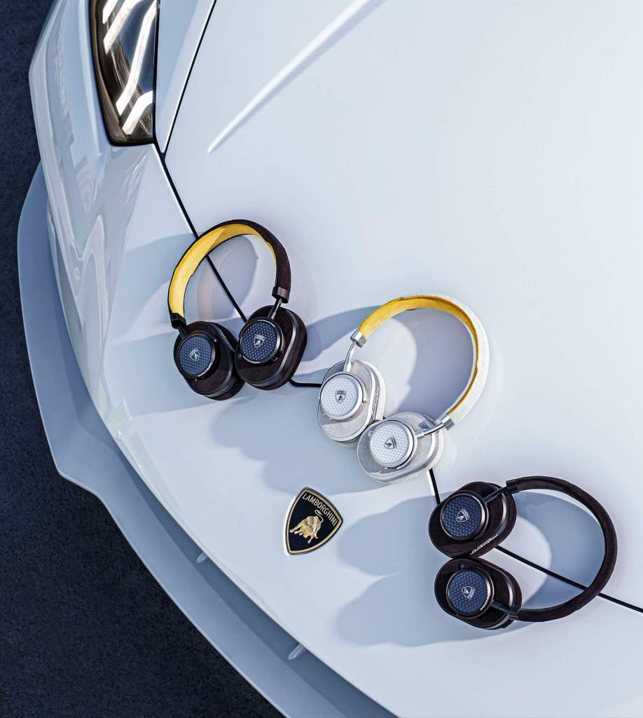 Master & Dynamic Collaborates with Lamborghini on Line of Headphones