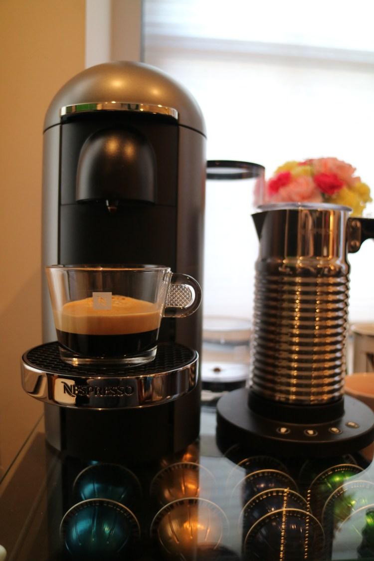 nespresso pour shot done