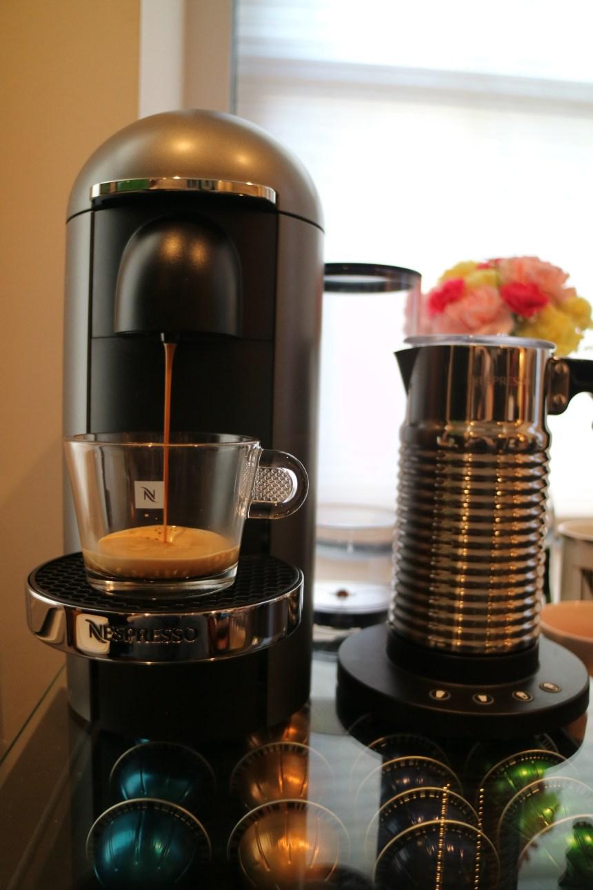 nespresso pour shot
