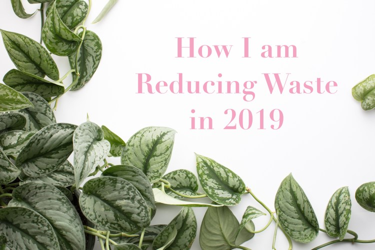 How I'm Reducing Waste in 2019