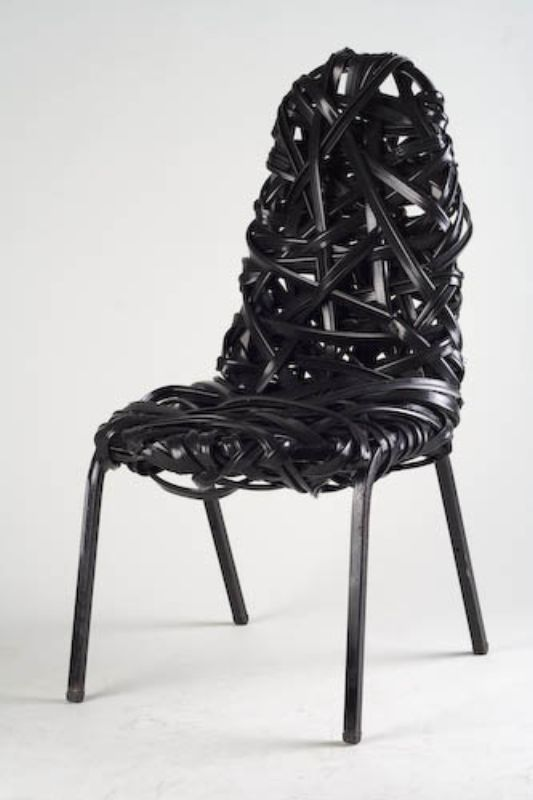 chair design bangkok toddler bouncy unique furniture made of industrial waste materials by scrap lab - home inspiration