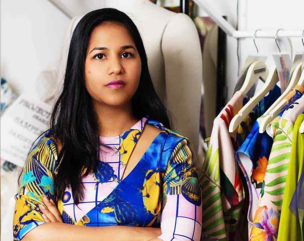 LUX Magazine Sandhya-Garg10-copy Sandhya Garg |The Feel, Fabric, and Fashion womenswear Style project runway Fashion dress designer