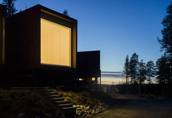 Ver auroras boreales sin salir del hotel