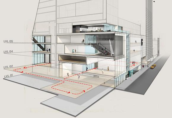 El nuevo MoMa de Nueva York, más amplio y conectado