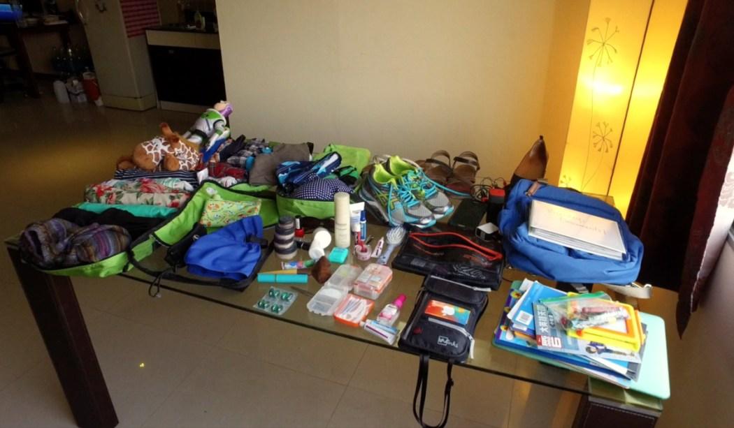 Nomad Family Pack List