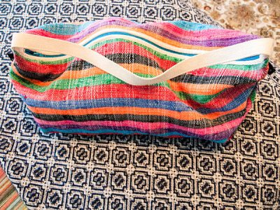nomad spending - Ashanti bag