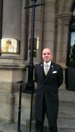 Dave Musk Concierge at The Balmoral Hotel