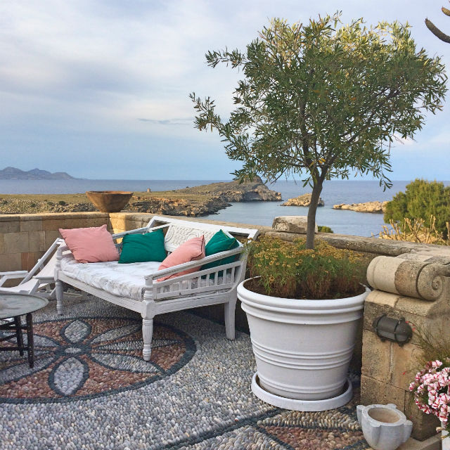 Melenos Lindos Suite Terrace