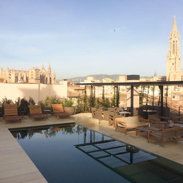 Morning on room terrace