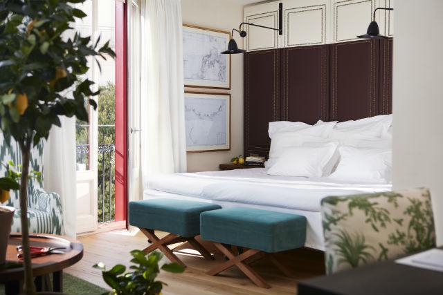 Bedroom Junior Suite (green)