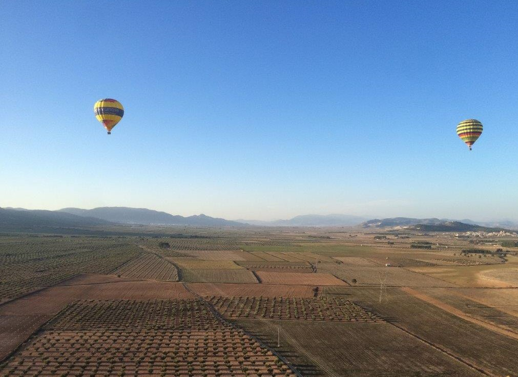 6. hot air balloon flight