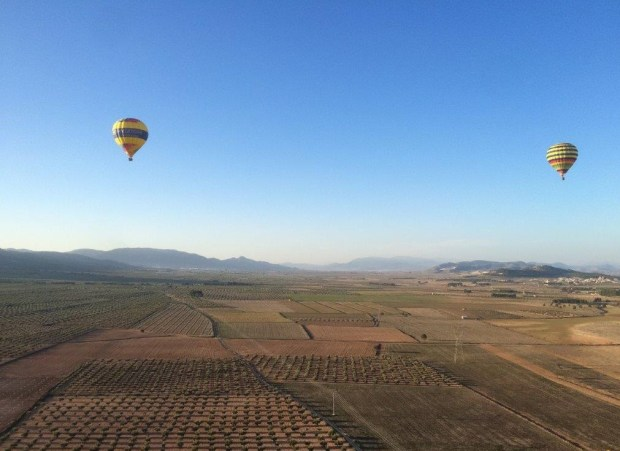 6. hot air balloon flight