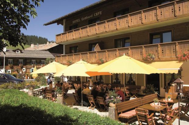 Hotel Gotthard Summer Terrace Lech