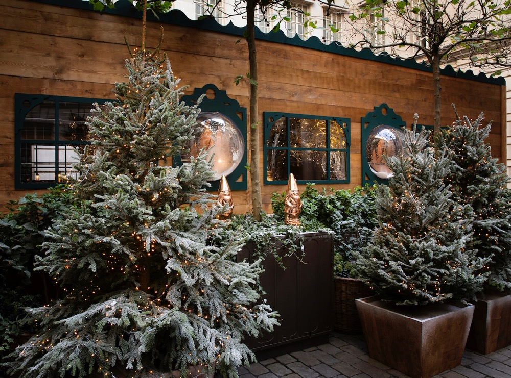The Elyx Chalet At Rosewood London The Terrace Holborn Dining Room The Luxury Editor
