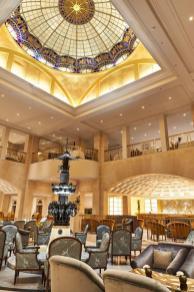 Hotel Adlon Kempinski_Lobby_Elephant Fountain_Ceiling