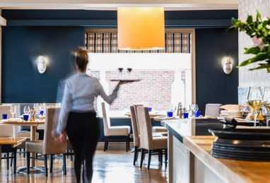 Enjoy a three-course dinner in the Seafood & Grill at the Brudenell Hotel, Aldeburgh (med)