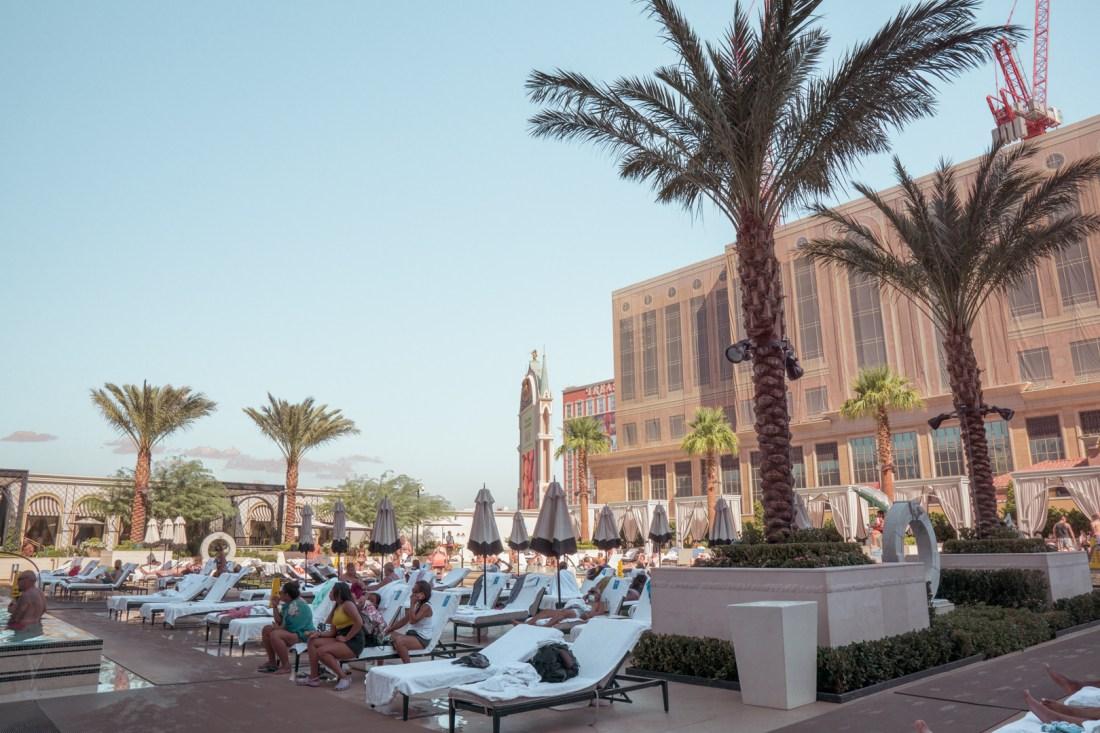 Venetian Hotel Pool Area