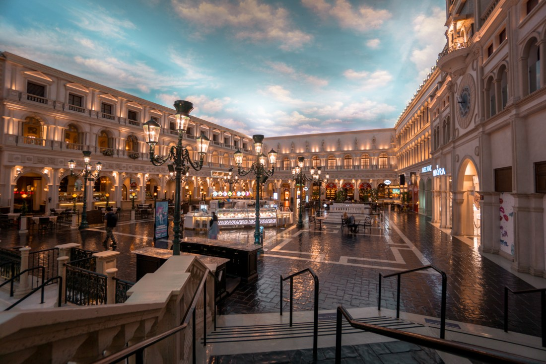 Venetian Hotel Canal Shops