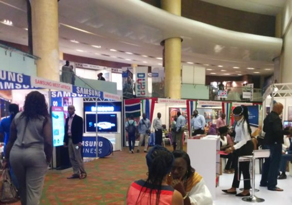 The Pavillion at the 2015 Akwaaba held at Eko Hotel & Suites, Lagos