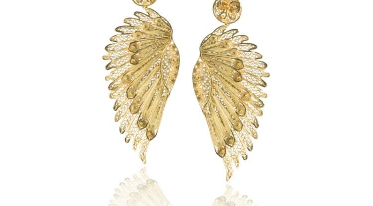 Anjo Wings earrings by Tres Almas
