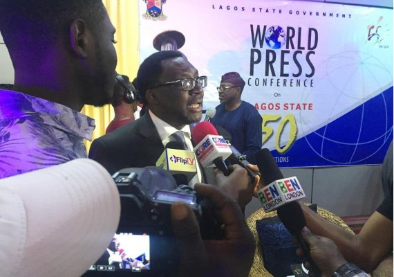 Steve Ayorinde, commissioner for information and strategy, Lagos State
