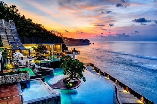 Anantara Uluwatu Bali Sunset