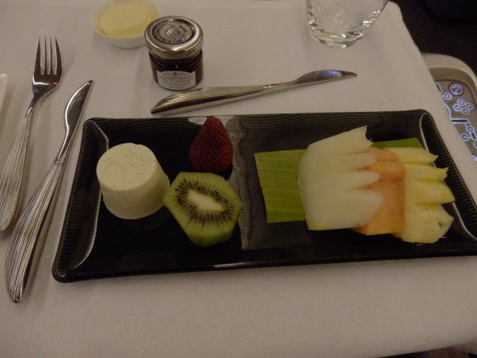 BREAKFAST FRUITS WIT VANILLA PANNACOTTA