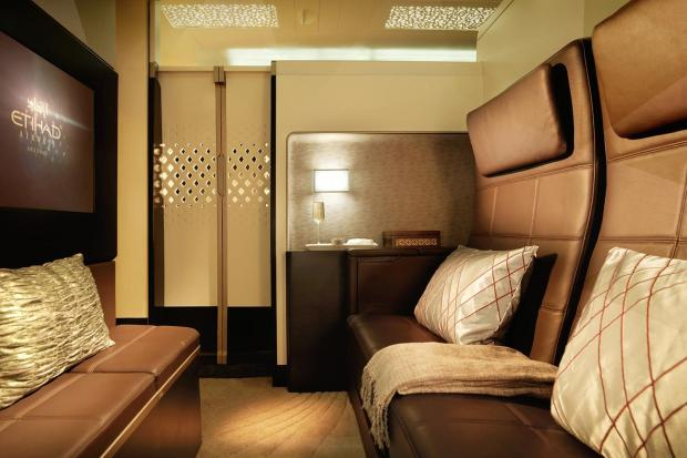 ETIHAD AIRWAYS RESIDENCE LIVING ROOM