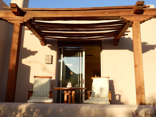 TERRACE OF DELUXE CASITA ROOM