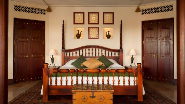 BEDROOM OF BEDOUIN SUITE
