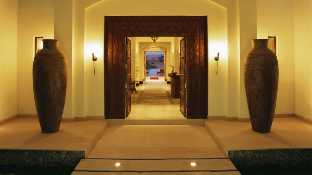ENTRANCE OF TIMELESS SPA