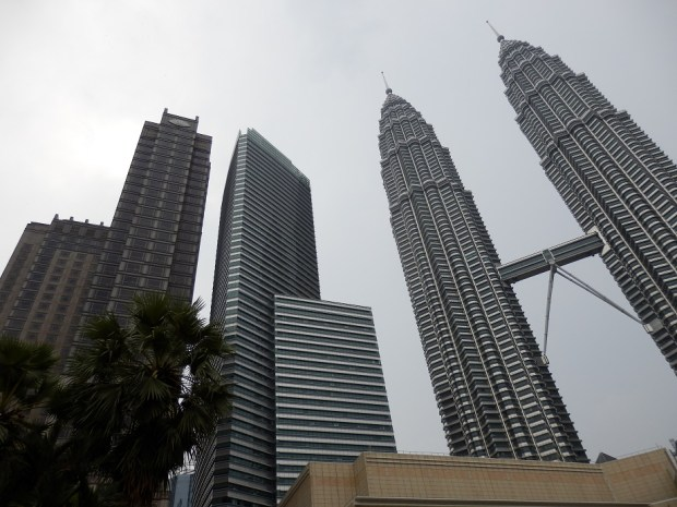 HOTEL (LEFT) WITH PETRONAS TOWERS